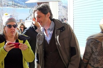 Zach Braff Celebs Out At The 2014 Sundance Film Festival