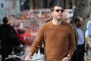 Zachary Quinto and Miles McMillan Out for a Walk in NYC