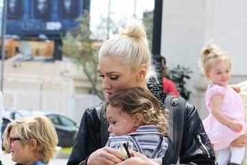 Zuma Rossdale Gwen Stefani Takes Her Sons to Church