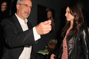 WIGS co-creator Jon Avnet (L) and actress Troian Bellisario attend the party to celebrate the one year anniversary of The WIGS Digital Channel at Akasha on May 2, 2013 in Culver City, California.