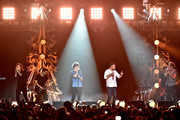 (L-R) Singers Harry Styles, Louis Tomlinson, Liam Payne and Niall Horan of One Direction perform onstage during 102.7 KIIS FMÂ's Jingle Ball 2015 Presented by Capital One at STAPLES CENTER on December 4, 2015 in Los Angeles, California.