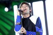 (EDITORIAL USE ONLY. NO COMMERCIAL USE.) Louis Tomlinson performs onstage at 102.7 KIIS FM's Jingle Ball Pre-Show Village at KIIS FM's Jingle Ball 2019 Presented by Capital One pre-show on December 6, 2019 in Los Angeles, California.