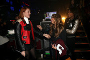 (L-R) Singers Caroline Hjelt of Icona Pop and Ally Brooke and Normani Hamilton of Fifth Harmony attend 106.1 KISS FM's Jingle Ball 2013, at Comcast Arena at Everett on December 8, 2013 in Seattle, Washington.