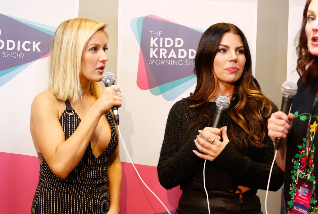 jenna owens pictures 106 1 kiss fm 39 s jingle ball 2015 backstage zimbio. Black Bedroom Furniture Sets. Home Design Ideas