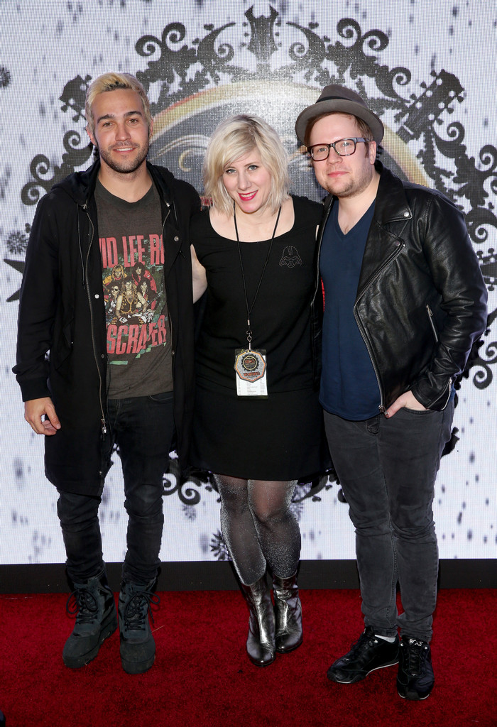 kat corbett in 1067 kroq almost acoustic christmas 2015 day 2 zimbio - Fall Out Boy Christmas