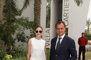 Regional Managing Director of Cartier Middle East, India and Africa Laurent Gaborit and actress Olivia Palermo attend the final day of the Cartier International Dubai Polo Challenge 10th edition at Desert Palm Hotel on February 21, 2015 in Dubai, United Arab Emirates. The event takes place under the patronage of HRH Princess Haya Bint Al Hussein, Wife of HH Sheikh Mohammed Bin Rashid Al Maktoum, Vice-President and Prime Minister of the UAE and Ruler of Dubai.  The Cartier International Dubai Polo Challenge is one of the most prestigious happenings in Dubai's sporting and social calendar. On this occasion Cartier launched their latest watch creation Cle De Cartier.