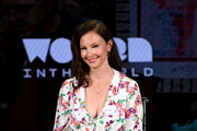 Actress Ashley Judd speaks onstage during the 'Feminism: A Battlefield Report' session  at the 10th Anniversary Women In The World Summit - Day 2 at David H. Koch Theater at Lincoln Center on April 11, 2019 in New York City.