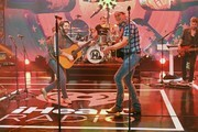 (L-R) In this image released on September 18, Thomas Rhett and Jon Pardi perform onstage for the 10th Anniversary of the iHeartRadio Music Festival streaming on CWTV.com and The CW App on September 18 & 19 and broadcast on The CW Network on September 27 & 28.