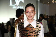 Olivia Palermo attends 10th Annual DVF Awards at Brooklyn Museum on April 11, 2019 in New York City.