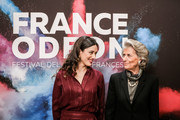 This image has been altered with digtal filter ) Vanessa Guide and Giovanna Ferragamo attend the 10th France Odeon Festival on October 31, 2018 in Florence, Italy.