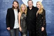 (L-R) Cal Campbell, Kim Campbell, Jimmy Webb and Ashley Campbell attend the 11th Annual ACM Honors at the Ryman Auditorium on August 23, 2017 in Nashville, Tennessee.