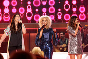 Hillary Scott, Kimberly Schlapman, and Karen Fairchild perform onstage during the 11th Annual ACM Honors at the Ryman Auditorium on August 23, 2017 in Nashville, Tennessee.