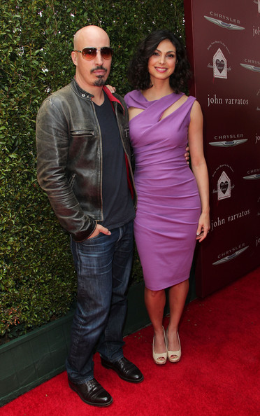 Morena Baccarin's ex-husband, Austin chick