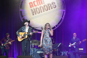 Jon Pardi (L) and Lauren Alaina perform onstage during the 12th Annual ACM Honors at Ryman Auditorium on August 22, 2018 in Nashville, Tennessee.