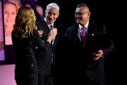 Kelly Ripa, Florence Phillips and Anderson Cooper host the 12th Annual CNN Heroes: An All-Star Tribute  at American Museum of Natural History on December 9, 2018 in New York City.