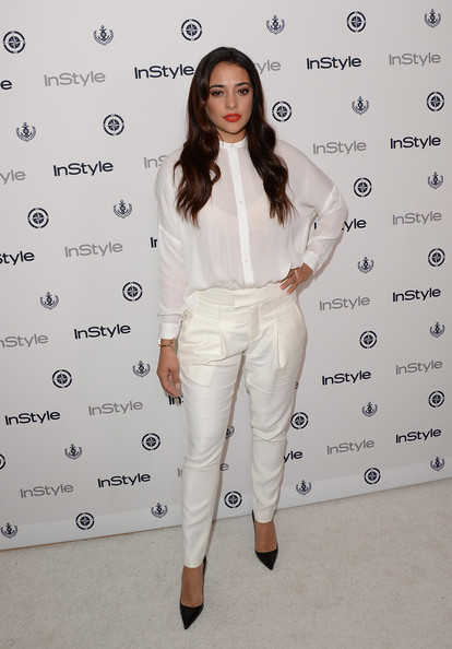Actress Natalie Martinez attends the InStyle Summer Soiree held Poolside at the Mondrian hotel on August 14, 2013 in West Hollywood, California.
