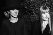 This image has been converted to Black & White digitally) Actress/Singer Zendaya (L) and Amy Astley, editor-in-chief of Teen Vogue, attends the 12th Annual Teen Vogue Young Hollywood Party with Emporio Armani at a private residence on September 26, 2014 in Beverly Hills, California.