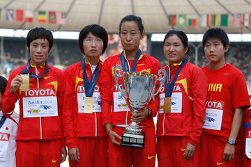 Xiaolin Zhu 12th IAAF World Athletics Championships - Day Nine