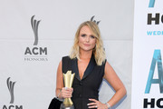 Miranda Lambert attends the 13th Annual ACM Honors at Ryman Auditorium on August 21, 2019 in Nashville, Tennessee.
