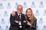 Host Andrew Zimmern and Christina Tosi, event Co-chair, Chef, Founder and Owner, Milk Bar attend the 13th Annual Autism Speaks Celebrity Chef Gala at Cipriani Wall Street on October 15, 2019 in New York City.