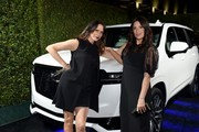 (L-R) Amy Landecker and Angelique Cabral attend the 13th annual Women In Film Female Oscar Nominees Party presented by Max Mara, Stella Artois, Cadillac, and Tequila Don Julio, with additional support from Vero Water at Sunset Room on February 07, 2020 in Hollywood, California.