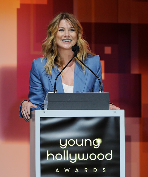 Actress Ellen Pompeo speaks onstage at the 13th Annual Young Hollywood Awards at Club Nokia on May 20, 2011 in Los Angeles, California.
