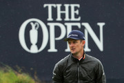 Justin Rose of England looks on during a practice round prior to the 148th Open Championship held on the Dunluce Links at Royal Portrush Golf Club on July 17, 2019 in Portrush, United Kingdom.