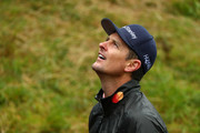 J during a practice round prior to the 148th Open Championship held on the Dunluce Links at Royal Portrush Golf Club on July 17, 2019 in Portrush, United Kingdom.