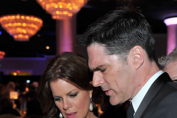 Thomas Gibson and Marcia Gay Harden