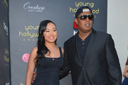 Cymphonique Miller and Rapper Master P arrive at 14th Annual Young Hollywood Awards presented by Bing at Hollywood Athletic Club on June 14, 2012 in Hollywood, California.