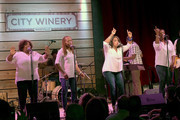 Recording Artists McCrary Sisters, Ann McCrary, Deborah McCrary, Alfreda McCrary, Regina McCrary perform at Thirty Tigers Gospel Brunch during the 15th Annual Americana Music Festival & Conference - Day 5 at City Winery on September 21, 2014 in Nashville, Tennessee.