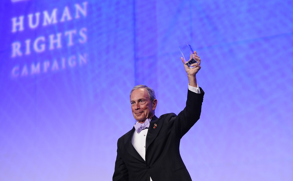 Michael Bloomberg in 15th Annual Human Rights Campaign ...