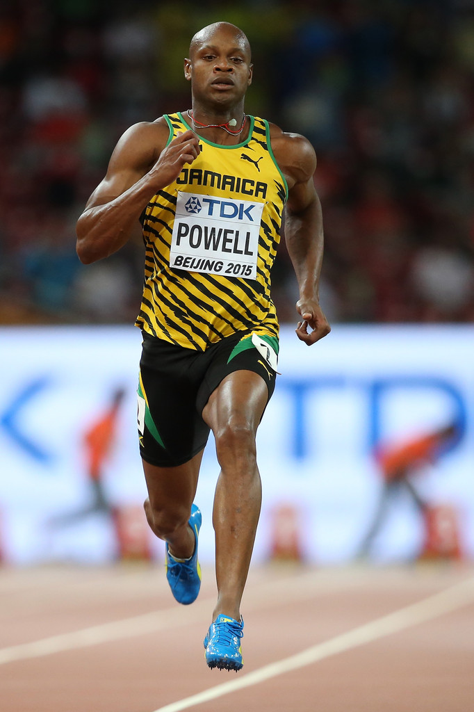 Asafa Powell Photos Photos - 15th IAAF World Athletics ...