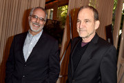 AFI Vice Chair of the Board of Trustees Jon Avnet (L) and President Emeritus of the Producers Guild of America Marshall Herskovitz attend the 16th Annual AFI Awards at Four Seasons Hotel Los Angeles at Beverly Hills on January 8, 2016 in Beverly Hills, California.