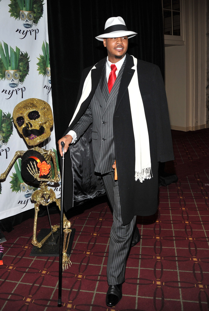 Carmelo Anthony The Best Celebrity Halloween Costumes
