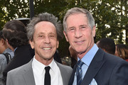 Producer Brian Grazer (L) and CEO, Lions Gate Entertainment, Jon Feltheimer at the 16th Annual Chrysalis Butterfly Ball on June 3, 2017 in Los Angeles, California.