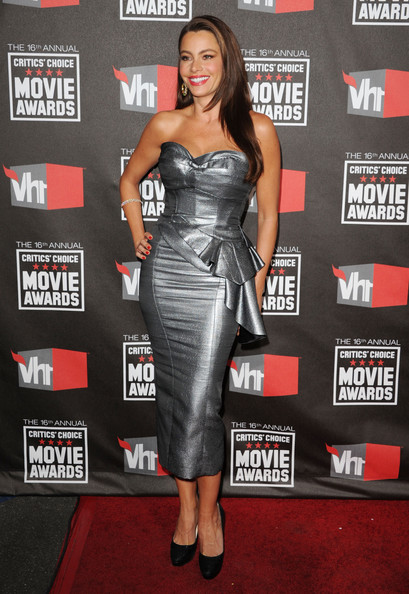 Actress Sofia Vergara arrives at the 16th annual Critics' Choice Movie Awards at the Hollywood Palladium on January 14, 2011 in Los Angeles, California.