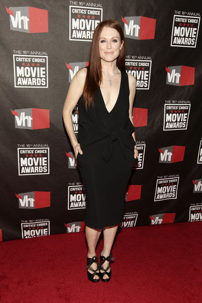 Actress Julianne Moore arrives at the 16th annual Critics' Choice Movie Awards at the Hollywood Palladium on January 14, 2011 in Los Angeles, California.