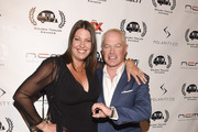 Ruve McDonough and actor Neal McDonough attend the 16th Annual Golden Trailer Awards at Saban Theatre on May 6, 2015 in Beverly Hills, California.
