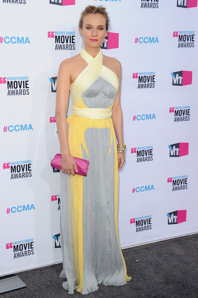Actress Diane Kruger arrives at the 17th Annual Critics' Choice Movie Awards held at The Hollywood Palladium on January 12, 2012 in Los Angeles, California.