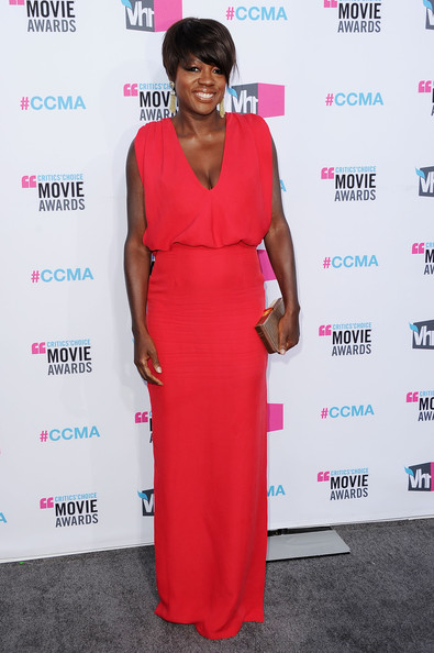 Actress Viola Davis arrives at the 17th Annual Critics' Choice Movie Awards held at The Hollywood Palladium on January 12, 2012 in Los Angeles, California.