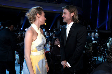 Brad Pitt; Diane Kruger 17th Annual Critics' Choice Movie Awards - Backstage And Audience