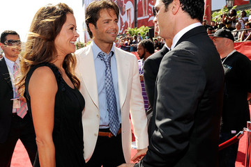 Brooke Burke David Charvet 17th Annual ESPY Awards - Red Carpet