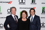 (L-R) Actors Chris Cooper, Margo Martindale and Dermot Mulroney arrive at the 17th annual Hollywood Film Awards at The Beverly Hilton Hotel on October 21, 2013 in Beverly Hills, California.