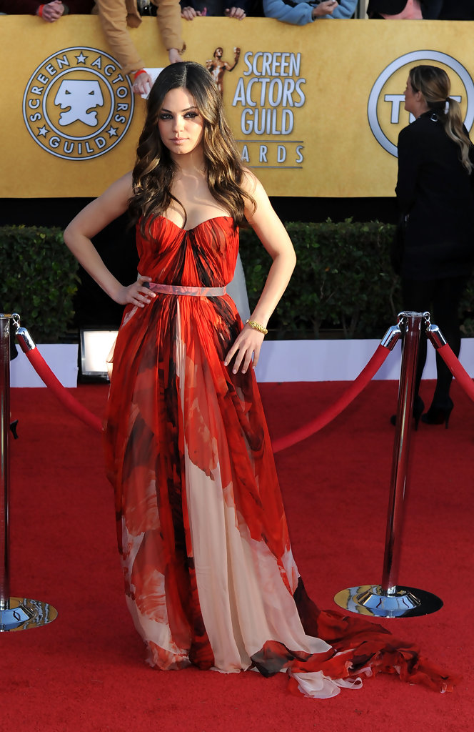 Mila+Kunis in 17th Annual Screen Actors Guild Awards - Arrivals