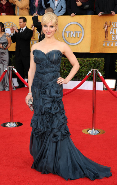 Actress Cara Buono arrives at the 17th Annual Screen Actors Guild Awards held at The Shrine Auditorium on January 30, 2011 in Los Angeles, California.