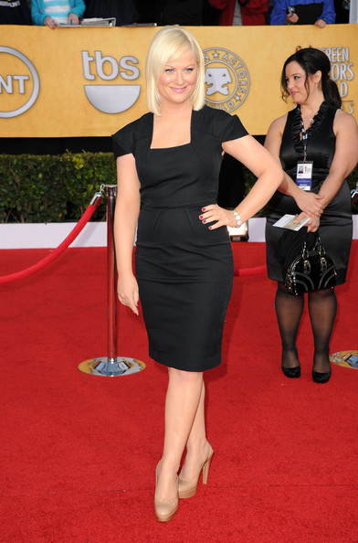 Actress Amy Poehler arrives at the 17th Annual Screen Actors Guild Awards held at The Shrine Auditorium on January 30, 2011 in Los Angeles, California.