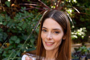 This image has been retouched) Ashley Greene and 1800 Tequila host the ultimate at-home tailgate with 1800 LA Rita Cocktails ahead of the LA Rams game on Monday Night Football on October 26, 2020 in Los Angeles, California.