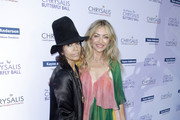 Honoree Linda Perry and Rebecca Gayheart-Dane attend the 18th annual Chrysalis Butterfly Ball on June 01, 2019 in Brentwood, California.
