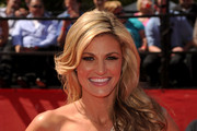 ESPN talent Erin Andrews arrives at the 2010 ESPY Awards at Nokia Theatre L.A. Live on July 14, 2010 in Los Angeles, California.